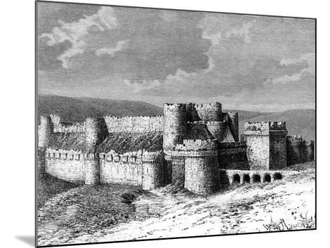 Al Karak Castle, 19th Century--Mounted Giclee Print