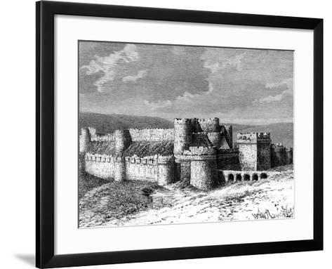 Al Karak Castle, 19th Century--Framed Art Print