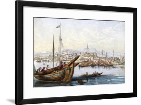 Varna, Bulgaria, 19th Century--Framed Art Print