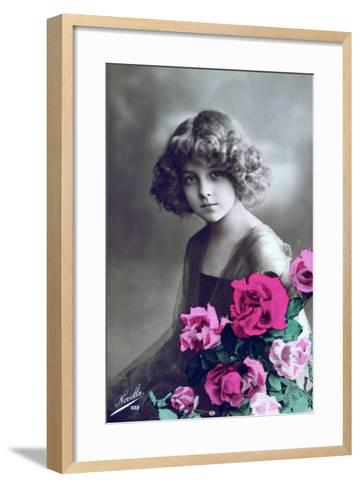 French Postcard, C1900--Framed Art Print