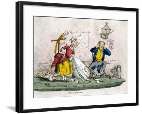 The Tempest--Framed Art Print