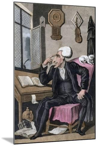 The Reverend Doctor Syntax, 1828--Mounted Giclee Print