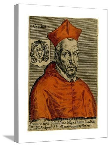 Cardinal Pinette, 1585--Stretched Canvas Print