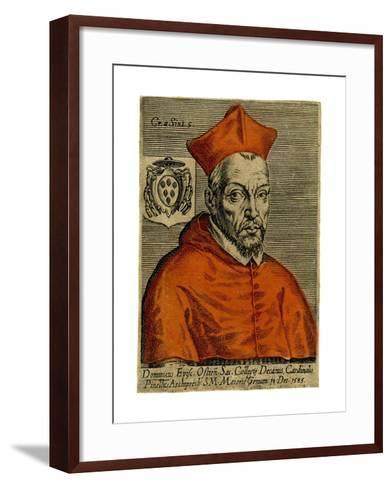 Cardinal Pinette, 1585--Framed Art Print