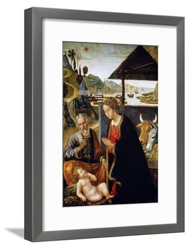 The Nativity of Christ, Late 15th or Early 16th Century-Bastiano Mainardi-Framed Art Print