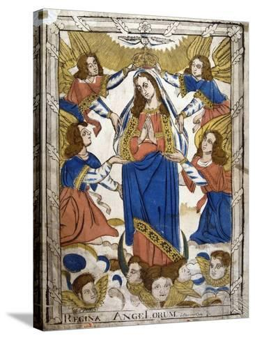 Coronation of the Virgin Mary, 19th Century--Stretched Canvas Print