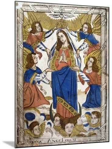 Coronation of the Virgin Mary, 19th Century--Mounted Giclee Print
