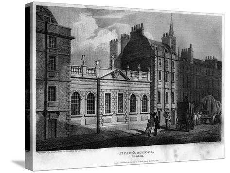 St Paul's School, City of London, 1814- Owen-Stretched Canvas Print