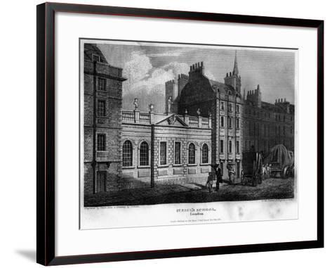 St Paul's School, City of London, 1814- Owen-Framed Art Print
