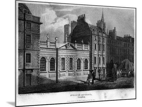 St Paul's School, City of London, 1814- Owen-Mounted Giclee Print