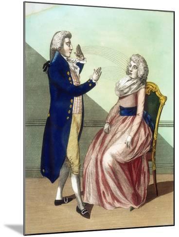Hypnotist Mesmerising a Patient, C1795--Mounted Giclee Print