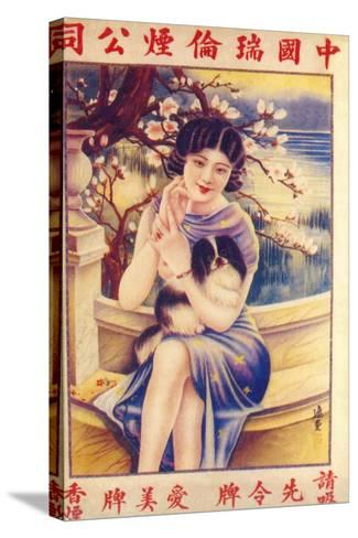 Shanghai Advertising Poster, C1930s--Stretched Canvas Print