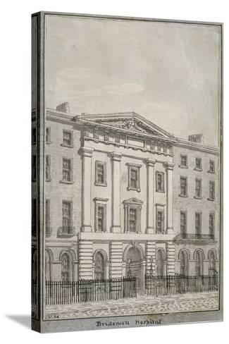 Bridewell, City of London, 1820--Stretched Canvas Print