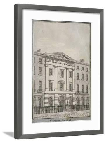 Bridewell, City of London, 1820--Framed Art Print