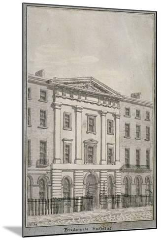 Bridewell, City of London, 1820--Mounted Giclee Print