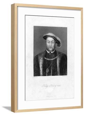 Henry VIII of England, (1491-154)-Edwards-Framed Art Print