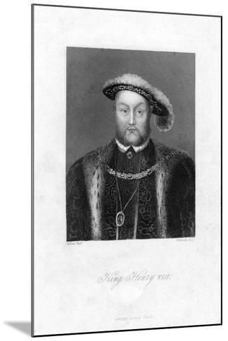 Henry VIII of England, (1491-154)-Edwards-Mounted Giclee Print