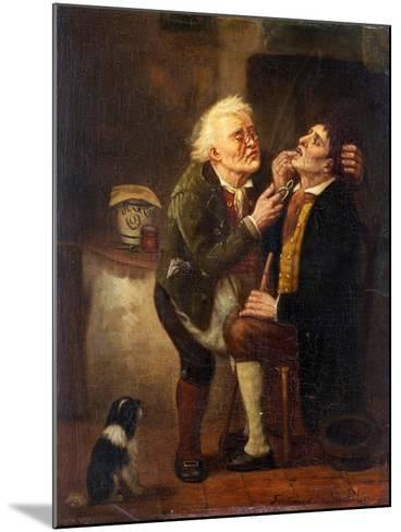 At the Dentist-Ferdinand de Braekeleer the Elder-Mounted Giclee Print