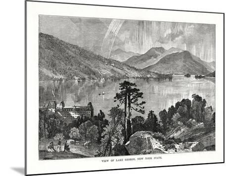 Lake George, New York State, USA, 1877--Mounted Giclee Print