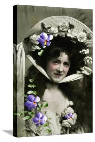 Gladys Huxley, Actress, 1908--Stretched Canvas Print