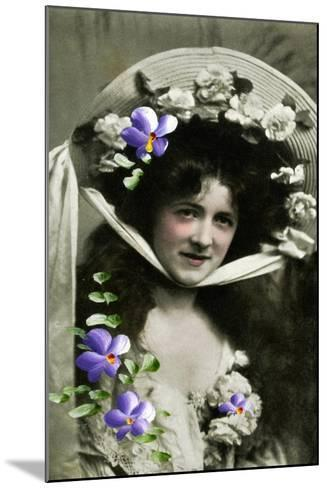 Gladys Huxley, Actress, 1908--Mounted Giclee Print
