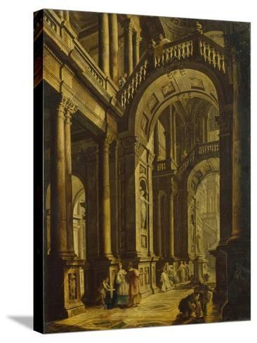 The Idolatry of King Solomon--Stretched Canvas Print