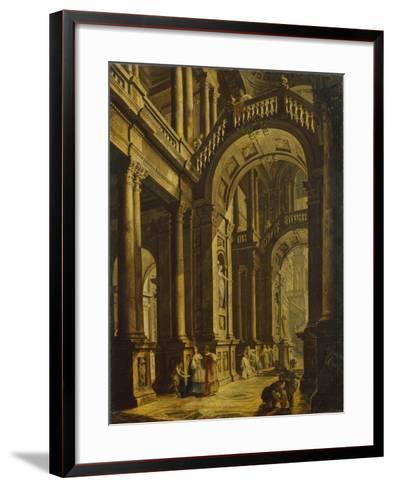 The Idolatry of King Solomon--Framed Art Print