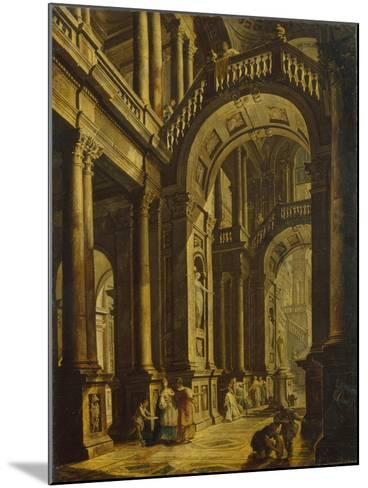 The Idolatry of King Solomon--Mounted Giclee Print
