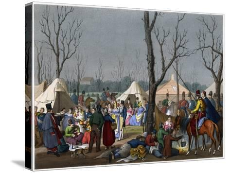 A French Fete, C18th Century--Stretched Canvas Print