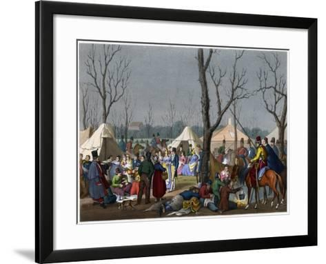 A French Fete, C18th Century--Framed Art Print