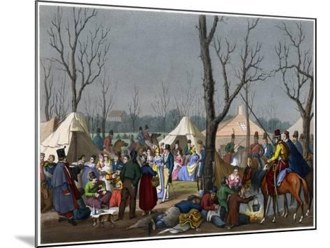 A French Fete, C18th Century--Mounted Giclee Print
