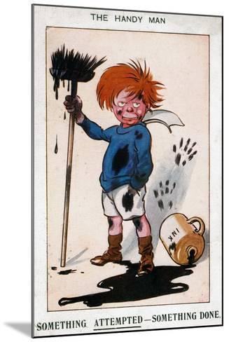 The Handy Man, 1913--Mounted Giclee Print