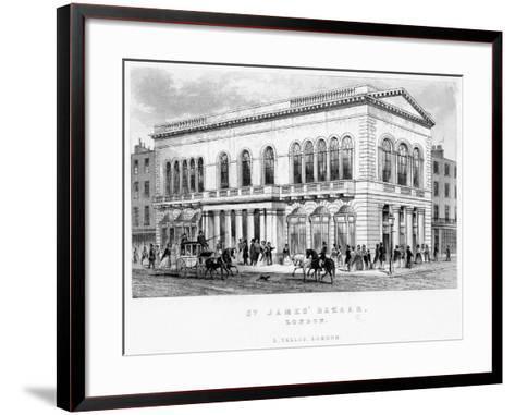 St James's Bazaar, Westminster, London--Framed Art Print