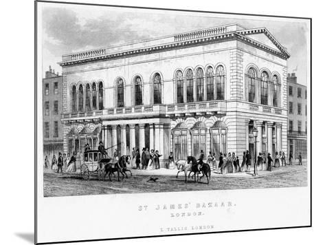 St James's Bazaar, Westminster, London--Mounted Giclee Print