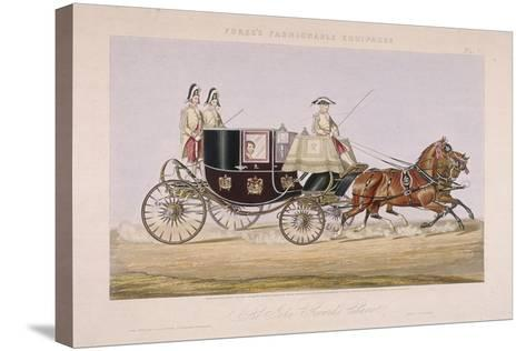 Sir John Gerard's Chariot, 1844--Stretched Canvas Print
