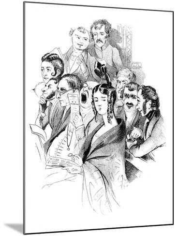 At a Concert, 19th Century--Mounted Giclee Print