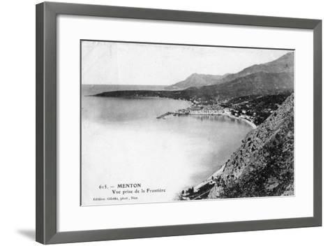 Menton, France, 1902- Giletta-Framed Art Print