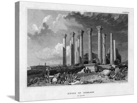 The Ruins of Djerash, Syria, 19th Century- Gest-Stretched Canvas Print