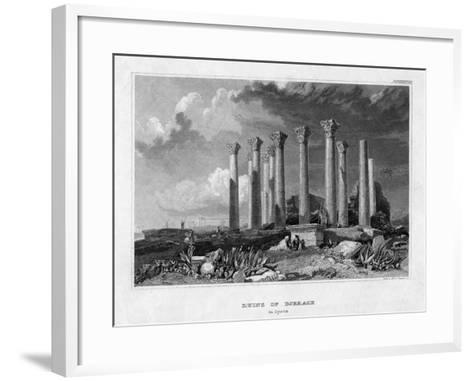 The Ruins of Djerash, Syria, 19th Century- Gest-Framed Art Print