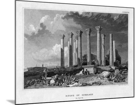 The Ruins of Djerash, Syria, 19th Century- Gest-Mounted Giclee Print