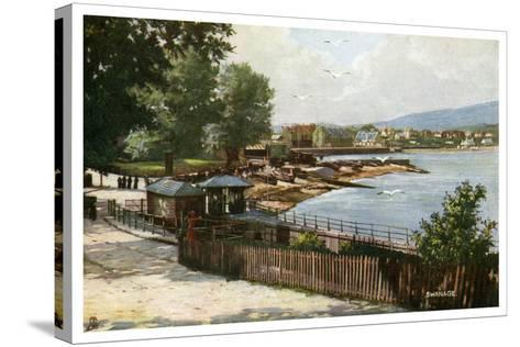 Swanage, Dorset, Early 20th Century--Stretched Canvas Print