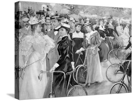 We are Off, C1900--Stretched Canvas Print