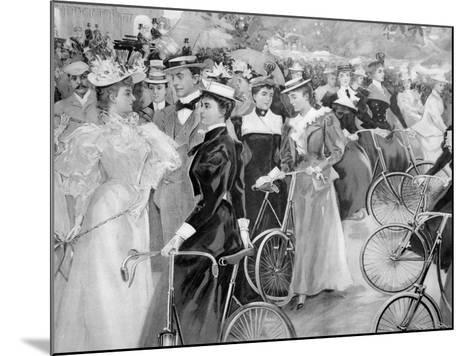 We are Off, C1900--Mounted Giclee Print