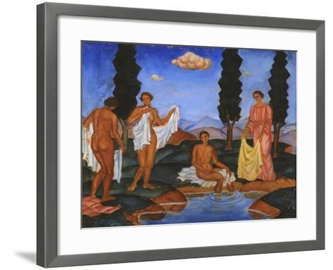 Bathers, 1910-Eugeniusz Zak-Framed Art Print