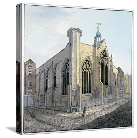 View of Austin Friars, City of London, C1800--Stretched Canvas Print