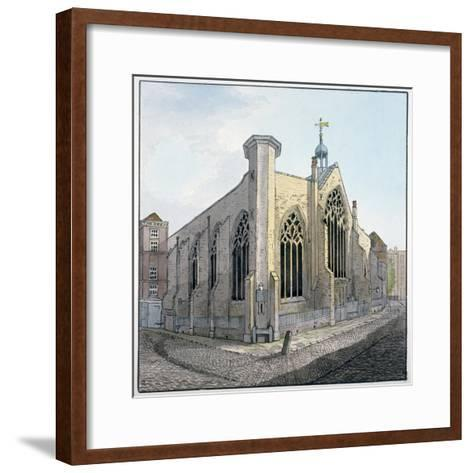 View of Austin Friars, City of London, C1800--Framed Art Print