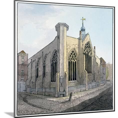 View of Austin Friars, City of London, C1800--Mounted Giclee Print