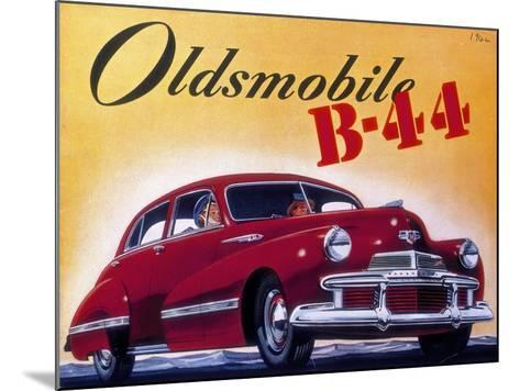 Poster Advertising an Oldsmobile B44, 1942--Mounted Giclee Print