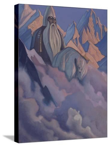 Svyatogor, 1942-Nicholas Roerich-Stretched Canvas Print