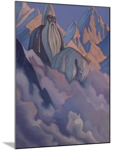 Svyatogor, 1942-Nicholas Roerich-Mounted Giclee Print